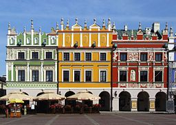 256px-Renaissances_houses_in_Zamość