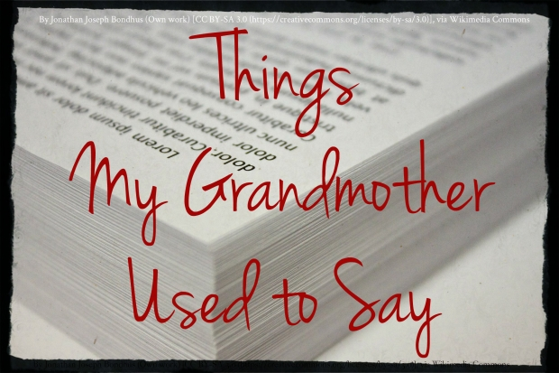 Grandmother Banner